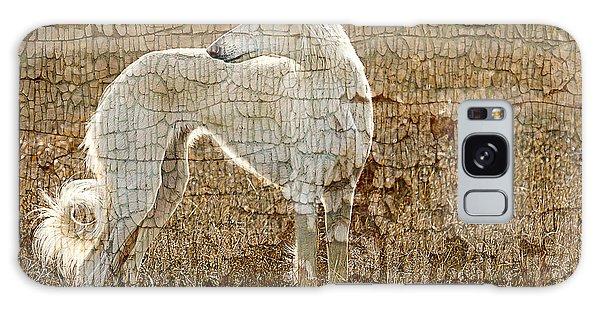 Sighthound Galaxy Case - Saluki Texture by Judy Wood