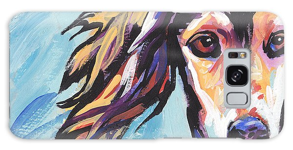 Sighthound Galaxy Case - Salute The Saluki by Lea S