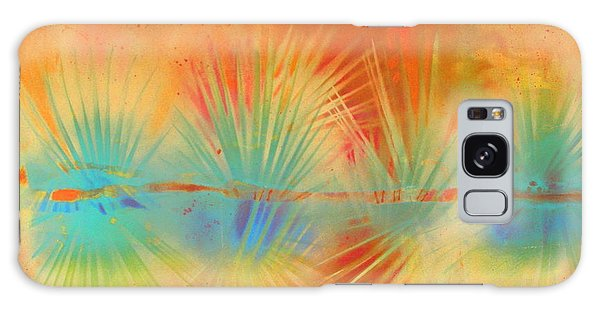 Salute To The Sun Galaxy Case by Gertrude Palmer