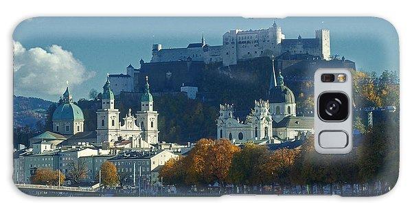 Salzburg Austria In Fall Galaxy Case by Rudi Prott
