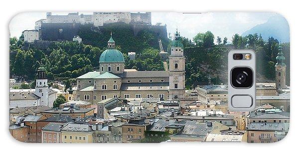 Salzburg Austria Old Town 3 Galaxy Case