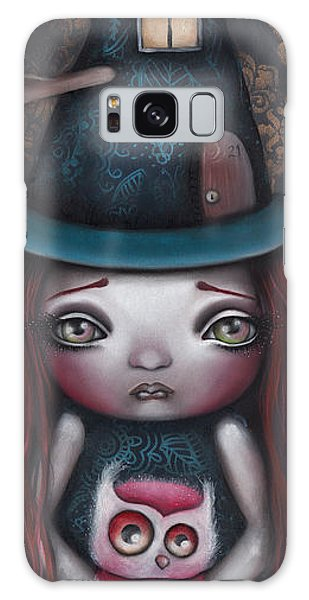 Samantha Galaxy Case by Abril Andrade Griffith