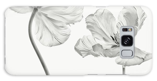 Tulips Galaxy Case - Same Tulip : Front- And Backview by Lotte Gr?nkj?r