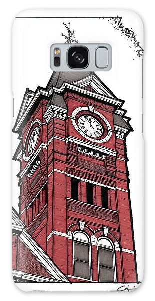 Samford Hall Clock Tower Galaxy Case