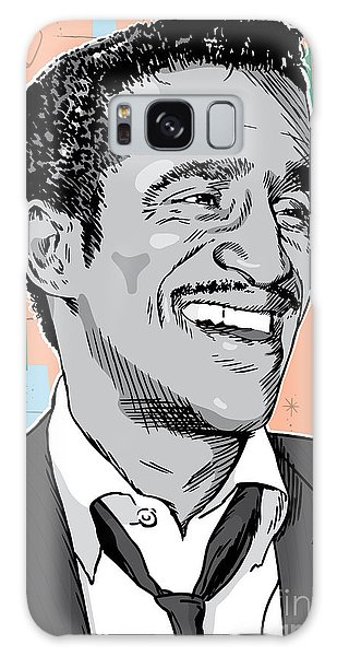 Sammy Davis Jr Pop Art Galaxy Case