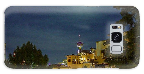 San Antonio Cityscape Galaxy Case