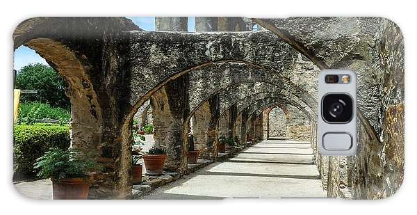 San Antonio Mission Arches Galaxy Case