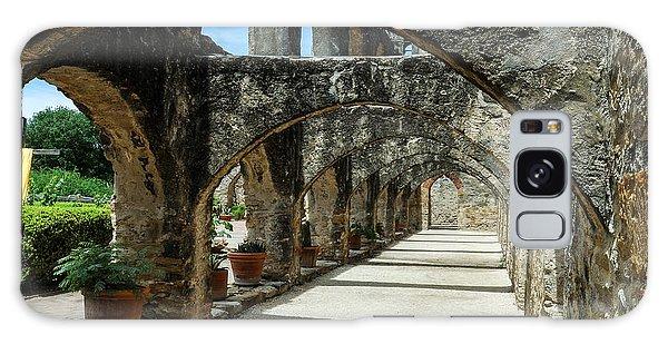 San Antonio Mission Arches Galaxy Case