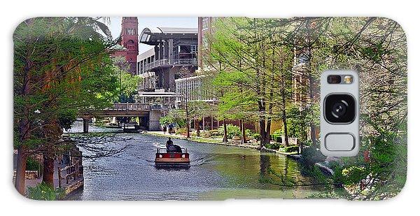 San Antonio River Walk Galaxy Case