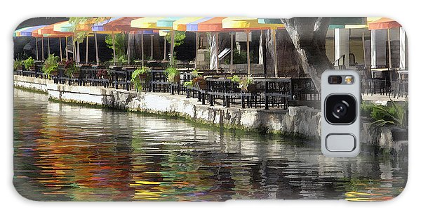 San Antonio River Walk Galaxy Case