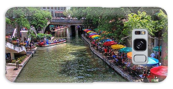 San Antonio Riverwalk Galaxy Case