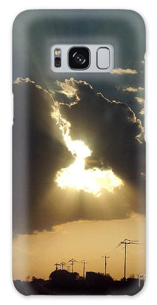 San Antonio Sunset Galaxy Case by Peter Piatt