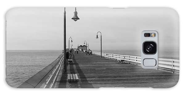 San Clemente Pier Galaxy Case by Ana V Ramirez
