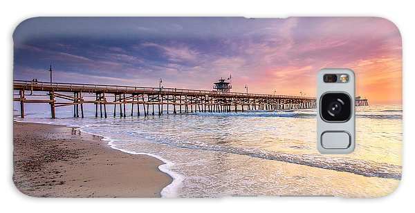 San Clemente Pier Galaxy Case by Robert  Aycock