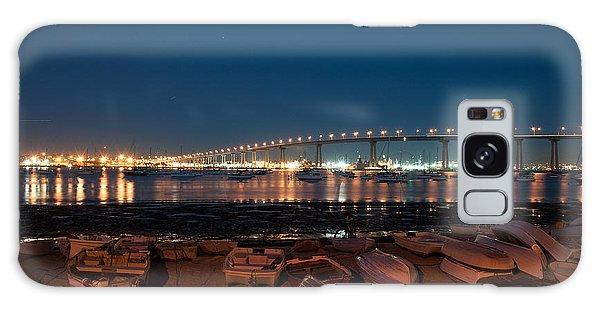 San Diego Bridge  Galaxy Case by Gandz Photography