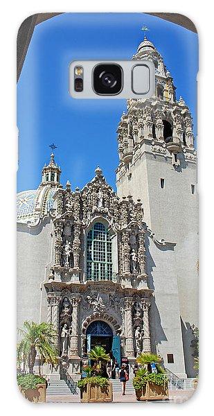 San Diego Museum Of Man Galaxy Case by Claudia Ellis