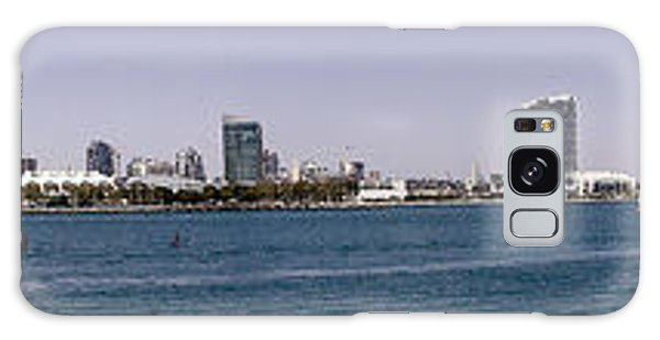 San Diego Panorama Galaxy Case