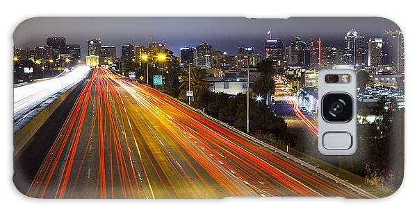 San Diego Skyline Galaxy Case