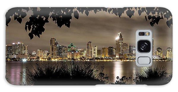 San Diego Skyline Framed 2 Galaxy Case