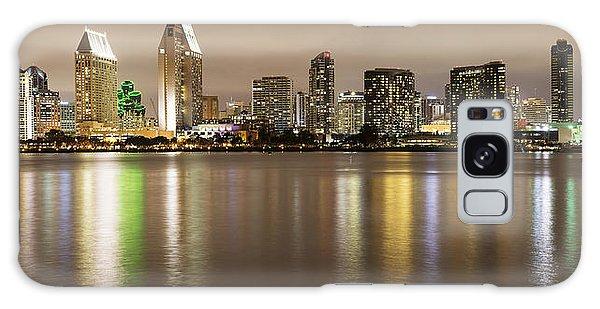 San Diego Skyline Panoramic 2 Galaxy Case