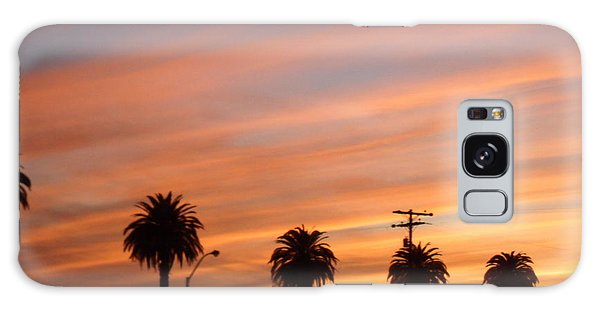 San Diego Sunset 2 Galaxy Case