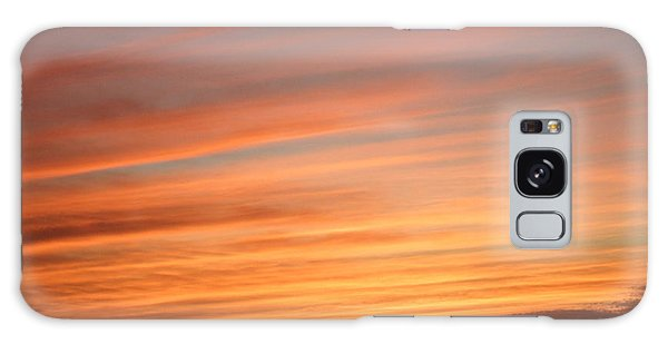 San Diego Sunset 3 Galaxy Case