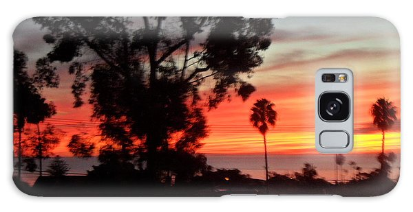San Diego Sunset 5 Galaxy Case
