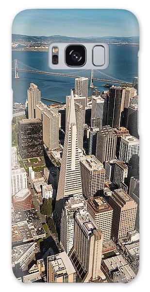Helicopter Galaxy S8 Case - San Francisco Aloft by Steve Gadomski