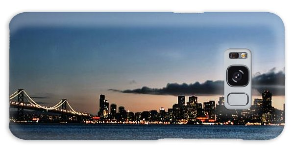 San Francisco And The Bay Bridge Galaxy Case