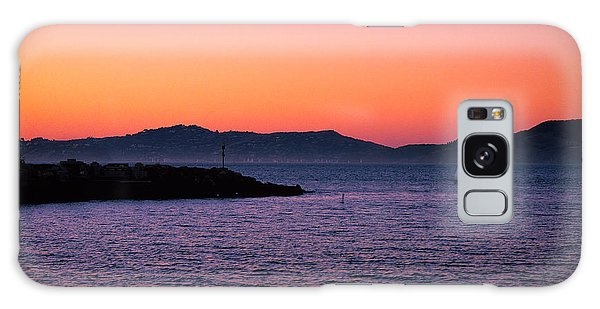 San Francisco Bay At Dusk 2 Galaxy Case