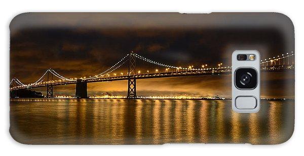 San Francisco - Bay Bridge At Night Galaxy Case