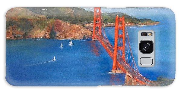 San Francisco Bay Bridge Galaxy Case