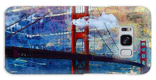 San Francisco Bridge Galaxy Case