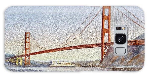 San Francisco California Golden Gate Bridge Galaxy Case