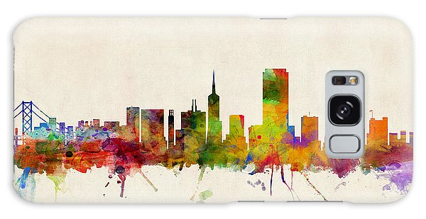 Poster Galaxy Case - San Francisco City Skyline by Michael Tompsett