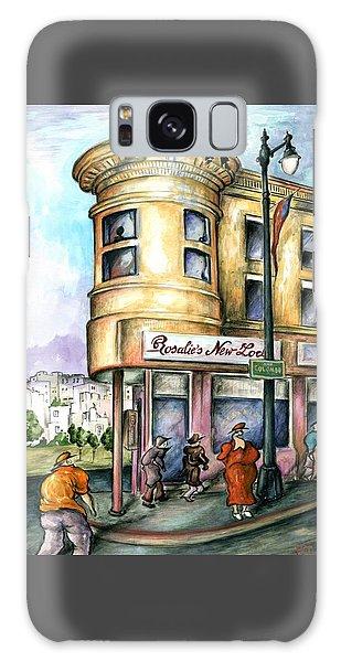 San Francisco North Beach - Watercolor Art Painting Galaxy Case
