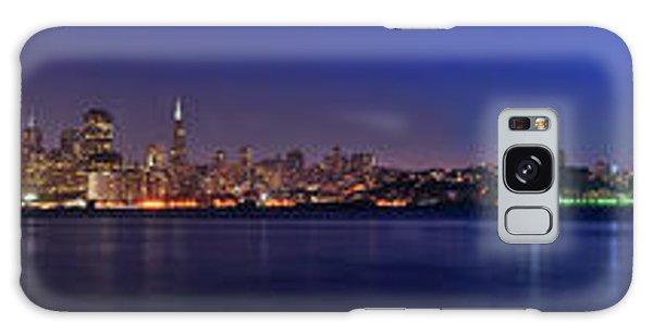 San Francisco Dusk Panorama Galaxy Case