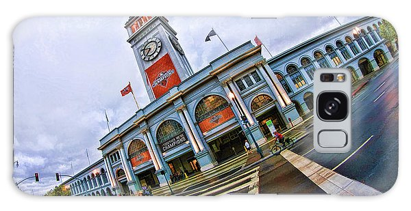 San Francisco Ferry Building Giants Decorations. Galaxy Case