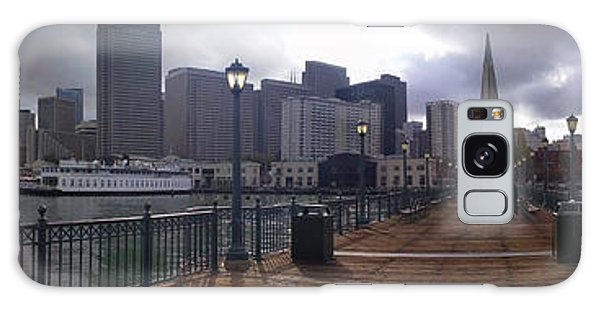 San Francisco From Pier Galaxy Case by Haleh Mahbod