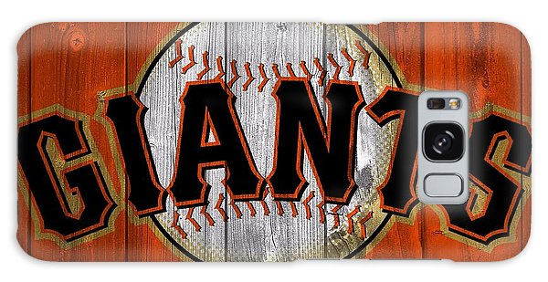 San Francisco Giants Barn Door Galaxy Case