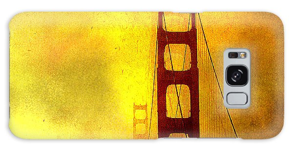 San Francisco Golden Gate Bridge Commute In Sun And Fog Galaxy Case