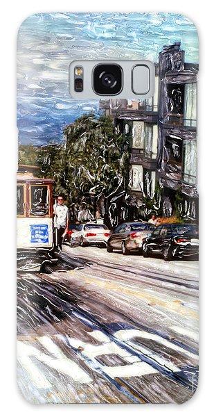 San Francisco Hyde Street Cable Car Galaxy Case