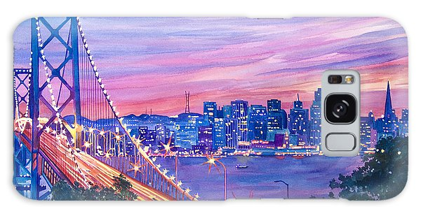 San Francisco Nights Galaxy Case