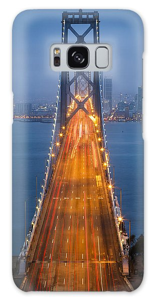 West Bay Galaxy Case - San Francisco - Oakland Bay Bridge by Adam Romanowicz