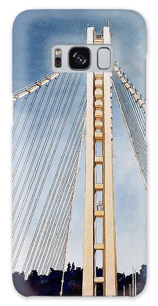 San Francisco Oakland Bay Bridge Eastern Span Galaxy Case