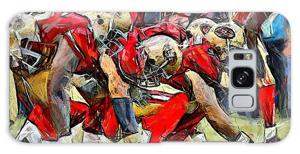San Francisco Offense Galaxy Case by Carrie OBrien Sibley