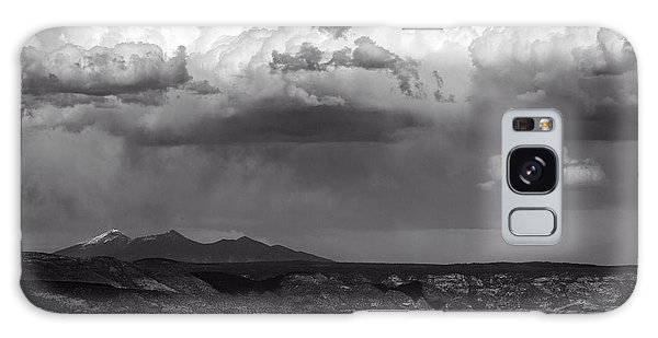 San Francisco Peaks Snow Rain And Clouds Galaxy Case