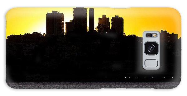 San Francisco Silhouette Galaxy Case