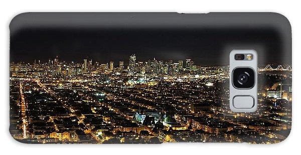 San Francisco Skyline Galaxy Case by Dave Files