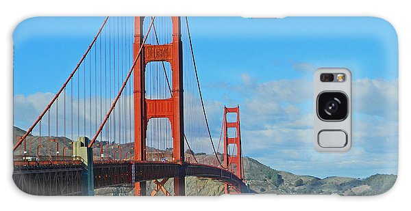 San Francisco's Golden Gate Bridge Galaxy Case